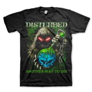 DISTURBED Toxic Globe, Tシャツ