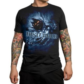 DISTURBED Blue Fade, Tシャツ