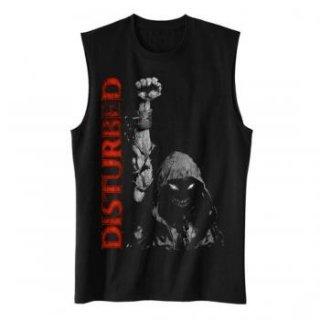 DISTURBED Up Your Fist, ノースリーブTシャツ(メンズ)