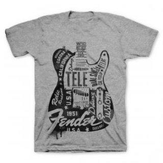 FENDER Tee 23 Tele, Tシャツ