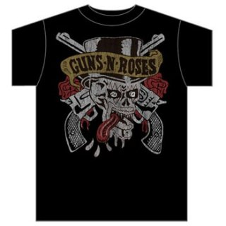 GUNS N' ROSES Tongue Skull, Tシャツ