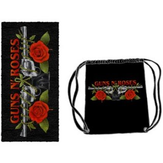 GUNS N' ROSES Roses And Pistols, ビーチタオル&バッグセット