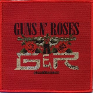 GUNS N' ROSES Cd Red Tour, パッチ
