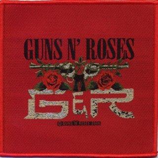 GUNS N' ROSES Cd Red Tour, パッチ