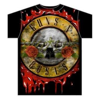 GUNS N' ROSES Jumbo Bloody Bullet, Tシャツ