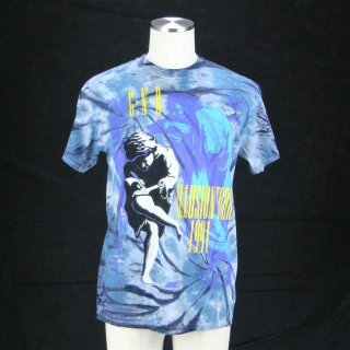 GUNS N' ROSES Illusions Tour TIE-DYE, Tシャツ