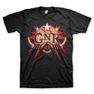 GUNS N' ROSES Globe Logo, Tシャツ