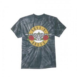 GUNS N' ROSES Simple Bullet Spider TIEDYE, Tシャツ