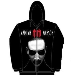 MARILYN MANSON Babble Babble, Zip-Upパーカー