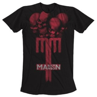 MARILYN MANSON Skull Cross, Tシャツ