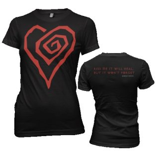 MARILYN MANSON Big Heart, レディースTシャツ