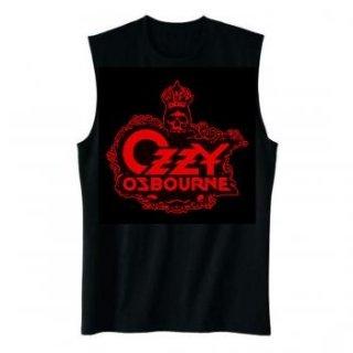 OZZY OSBOURNE Skull Logo, ノースリーブTシャツ (メンズ)