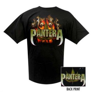 PANTERA Skull And Leaf, Tシャツ