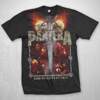 PANTERA Lightning Skulls, Tシャツ