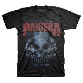 PANTERA Domination Distressed, Tシャツ