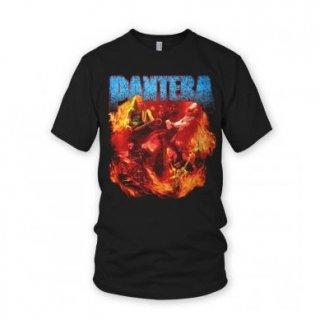 PANTERA Band Flames, Tシャツ