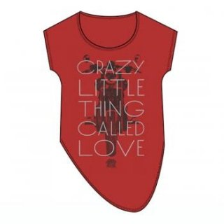 QUEEN Crazy Little Love, レディースTシャツ