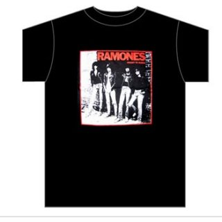 RAMONES Rocket To Russia Photo, Tシャツ