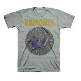RAMONES Yellow And Blue Seal, Tシャツ