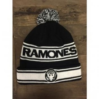 RAMONES Name Logo, ニットキャップ
