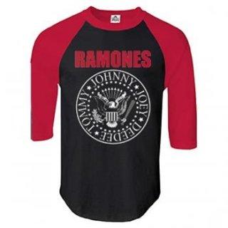 RAMONES Seal, ラグラン七分袖シャツ