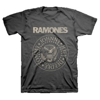 RAMONES Distress Crest, Tシャツ