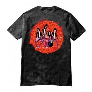 RAMONES Shag Circle Lock Up, Tシャツ