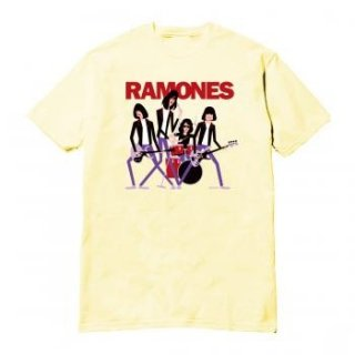RAMONES Shag Name Lock Up/CRE, Tシャツ