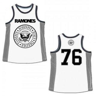 RAMONES Name Logo, バスケットボールジャージ
