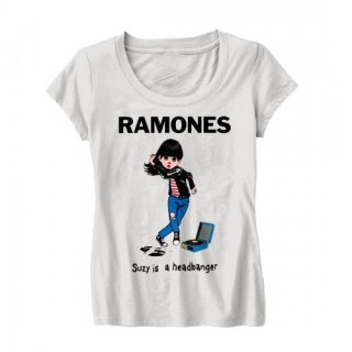 RAMONES Suzy Is A Headbanger, レディースTシャツ