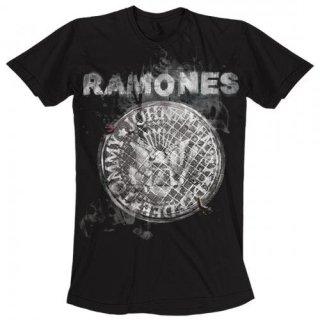 RAMONES Bowery Manhole Cover, Tシャツ