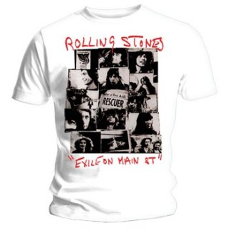 THE ROLLING STONES Rescuer Collage, Tシャツ
