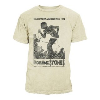 THE ROLLING STONES Vintage Tour Poster, Tシャツ
