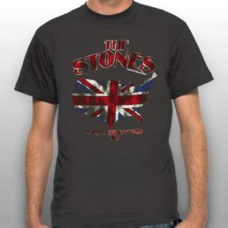 THE ROLLING STONES Union Jack U.S. Map 81, Tシャツ