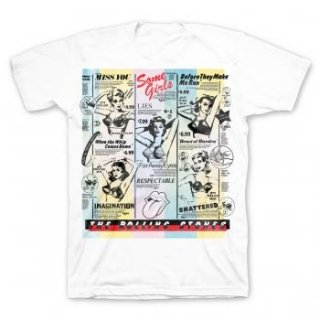 THE ROLLING STONES Bras, Tシャツ