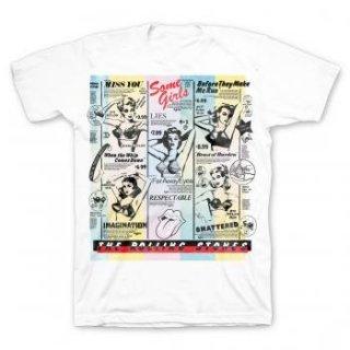 THE ROLLING STONES Bras, Tシャツ