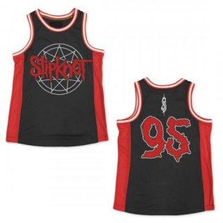 SLIPKNOT Name Logo, バスケットボールジャージ