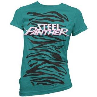 STEEL PANTHER Zebra, レディースTシャツ