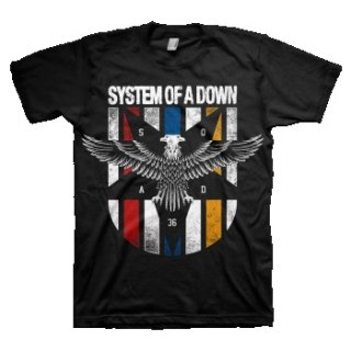 SYSTEM OF A DOWN Eagle Colors, Tシャツ