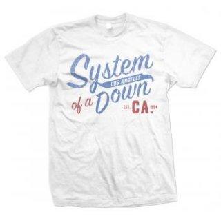 SYSTEM OF A DOWN Script Ca Col, Tシャツ