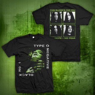 TYPE O NEGATIVE Black 1, Tシャツ