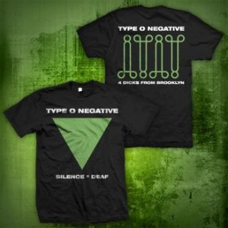 TYPE O NEGATIVE Silence, Tシャツ