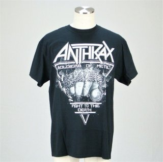ANTHRAX Fistful Of Metal, Tシャツ