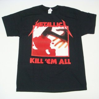 METALLICA Kill 'Em All Tracks, Tシャツ