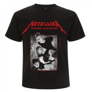 METALLICA Hardwired Band Concrete, Tシャツ
