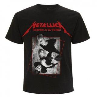 METALLICA Hardwired Band Concrete, Tシャツ