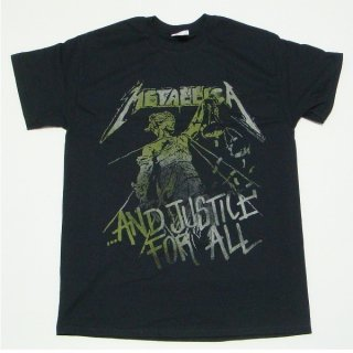 METALLICA Justice Vintage, Tシャツ