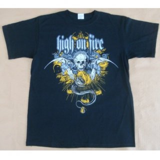 HIGH ON FIRE Crest, Tシャツ