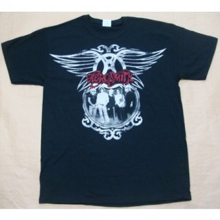 AEROSMITH Big Wings Group 2010, Tシャツ