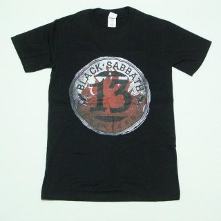 BLACK SABBATH 13 Flame Circle, Tシャツ